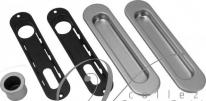 Ручка для раздвижной двери AGB KIT F B01927.00.32 (Хром матовый)