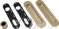 Ручка для раздвижной двери AGB KIT F B01927.00.08 (Золото матовое )