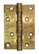 Петля дверная универсальная  Adden Bau 4BB Flo, Золото матовое