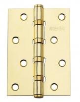 Петля Универсальная Adden Bau 100X70X2.5 4BB Satin Gold Матовое золото