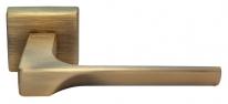 Ручка дверная на квадратной розетке Morelli Luxury, Fiord Caffe  Кофе