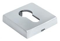 Накладки на ключевой цилиндр Morelli Luxury LUX-KH-Q CSA Цвет - Матовый хром