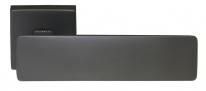 Ручка дверная на квадратной розетке Morelli Luxury, Space Nero цвет черный