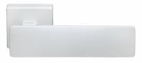 Ручка дверная на квадратной розетке Morelli Luxury, Space Bia Белый