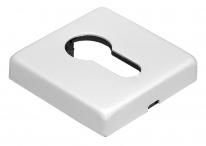 Накладки на ключевой цилиндр Morelli LuxuryLUX-KH-Q BIA  Цвет - Белый