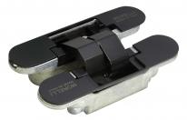 Скрытые петли Morelli с 3-D регулировкой HH-4 B Цвет - Черный 40/60 кг