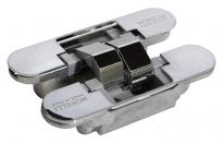 Скрытые петли Morelli с 3-D регулировкой HH-4 PC Цвет - Хром 40/60 кг