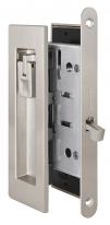 Ручка для раздвижной двери комплект Armadillo SH011 URB SN-3 Матовый никель