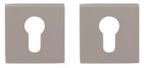 Накладка Tupai квадратная на цилиндр Никель