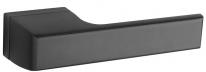 Ручка дверная на квадратной розетке Tupai Melody Черный
