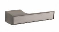 Ручка дверная на квадратной розетке Tupai Melody Vario Титан