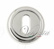 Накладка дверная под ключ буратино Venezia KEY-1 D1 полированный хром