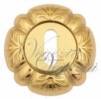 Накладка дверная под ключ буратино Venezia KEY-1 D5 полированная латунь