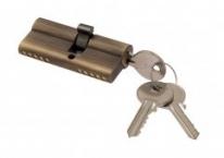 Цилиндровый механизм ключ-ключ Venezia 25/10/35 матовая бронза