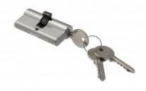 Цилиндровый механизм ключ-ключ Venezia 25/10/35 матовый хром
