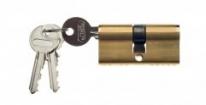Цилиндровый механизм ключ-ключ Venezia 25/10/35 полированная латунь