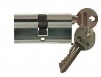 Цилиндровый механизм ключ-ключ Venezia 25/10/35 полированный хром