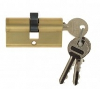 Цилиндровый механизм ключ-ключ Venezia 25/10/35 французское золото