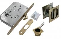 Комплект для раздвижных дверей Morelli MHS-2 WC AB, Бронза античная