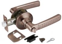 Ручка дверная кноб Punto 6026 AC-B (фик.) Медь