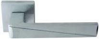 Ручка дверная на квадратной розетке Forme Prisma 253 К Хром матовый  / хром