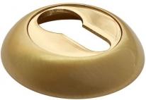 Накладка на ключевой цилиндр RUCETTI RAP KH SG/GP Матовое золото/золото