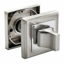 Завертка сантехническая RUCETTI RAP WC-S SN/CP Белый никель/хром
