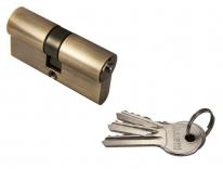 Ключевой цилиндр RUCETTI ключ/ключ (60 мм) R60C AB Антчная бронза