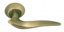 Дверные ручки RUCETTI RAP 4 AB Античная бронза