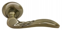 Дверные ручки RUCETTI RAP 9 AB Античная бронза