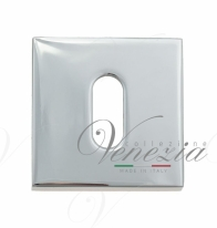 Накладка под ключ буратино на квадратном основании Fratelli Cattini KEY 8-CR полированный хром 2 шт.
