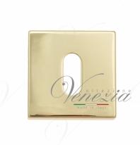 Накладка под ключ буратино на квадратном основании Fratelli Cattini KEY 8-OLV полированная лат 2 шт.