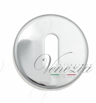 Накладка под ключ буратино на круглом основании Fratelli Cattini KEY 7-CR полированный хром 2 шт.