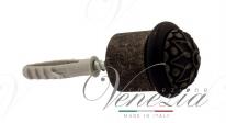 Ограничитель дверной напольный Fratelli Cattini F4 FA античное серебро