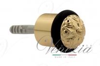 Ограничитель дверной напольный Fratelli Cattini F4 OLV полированная латунь