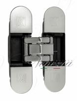 KUBICA K8000 ATOMIKA DXSX, CL петля скрытая универсальная ПОЛИРОВАННЫЙ ХРОМ (60 kg)