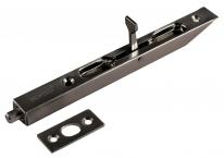 Ригель (торцевой ограничитель, шпингалет) Morelli L160 Bn, Черный никель