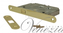 Замок для раздвижной двери Venezia SRR201 + ответная планка полированная латунь