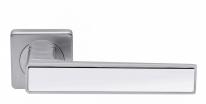 Ручка дверная на квадратной розетке Archie Esta Line S040 14299 (Хром матовый )
