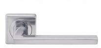 Ручка дверная на квадратной розетке Archie Vivo Line S040 4499 (Хром матовый )