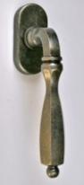 Ручка оконная Rossi Bremen LD 762 OS Серебро состаренное