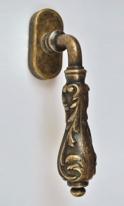 Ручка для окон ROSSI RODOS LD 567 AG бронза состаренная
