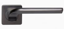 Ручка дверная на квадратной розетке Rossi Enjoy LD 222-F21 GR Графит