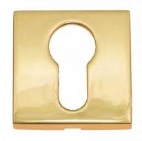 Накладка на цилиндр Linea Cali 019 YALE OZ полированное золото