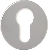 Накладка на цилиндр Linea Cali 023 YALE CS хром матовый