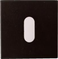 Накладка на ключ буратино Linea Cali 019 PAT VE черный матовый 1 шт.