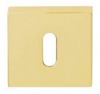 Накладка на ключ буратино Linea Cali 019 PAT OS матовая латунь 1 шт.