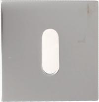 Накладка на ключ буратино Linea Cali 019 PAT CR полированный хром 1 шт.