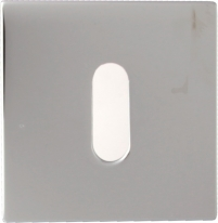 Накладка на ключ буратино Linea Cali 024 PAT CR полированный хром 1 шт.