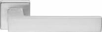 Ручка дверная на квадратной розетке Linea Cali CORNER 505 RO 024 CS Хром матовый
